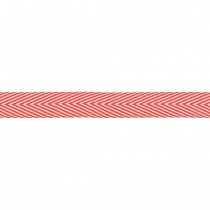 "Лента Red Twill Chevron 3/4"" May Arts"