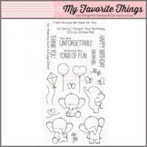 Штампы Adorable Elephants My Favorite Things