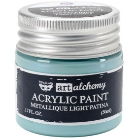 Акриловая краска Art Alchemy Metallique Light Patina Prima Marketing