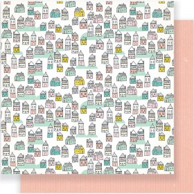 Бумага 30х30 см Cute Girl Crate Paper - Make Believe