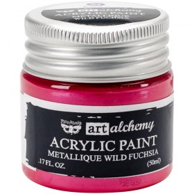 Акриловая краска Art Alchemy Metallique Wild Fuchsia Prima Marketing