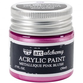 Акриловая краска Art Alchemy Metallique Pink Blush Prima Marketing