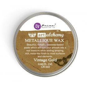 Воск Metallique Wax Prima Marketing - Vintage Gold