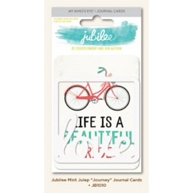 "Карточки Project Life 3""х4"" Mint Julep ""Journey"" - MME"