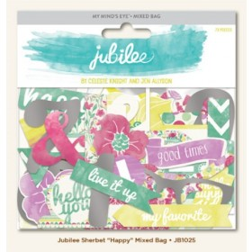 "Выcечки Jubilee Sherbet ""Happy"" My Mind's Eye"