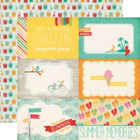"Бумага 30х30см Summer Memories ""Summer Bliss"" Echo Park"