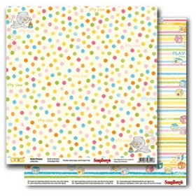 "Бумага 30х30 см Spots & Stripes ""Sweet Dreams"" Scrapberry's"