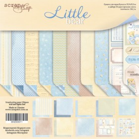 Бумага 30х30 см Little Bear ScrapMir