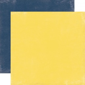"Бумага 30х30см Yellow/Navy ""Splendid Sunshine"" Echo Park"