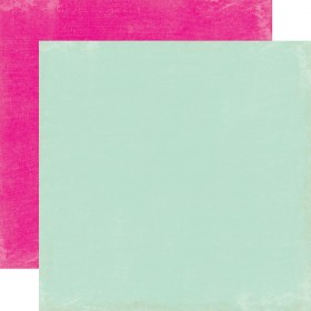 "Бумага 30х30см Lt. Blue/Hot Pink ""Splendid Sunshine"" Echo Park"