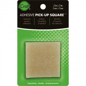 Ластик для клея Adhesive Pick-Up Square ICraft