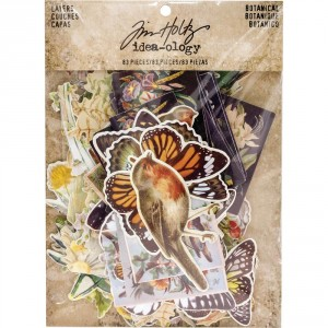 Высечки Botanical Idea-Ology Tim Holtz