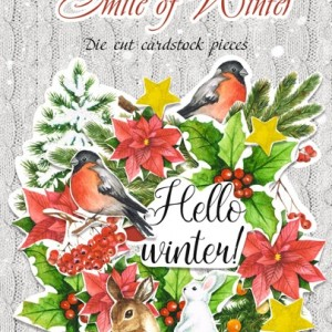 Высечки SMILE OF WINTER Fabrika Decoru