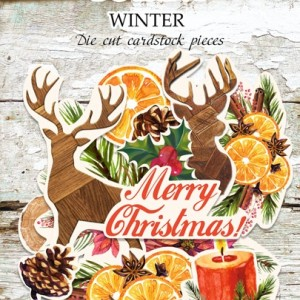 Высечки BOTANY WINTER Fabrika Decoru